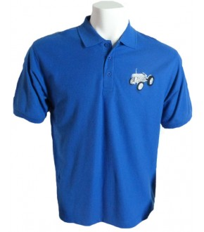 Adults Polo Shirt with Vintage Tractor logo