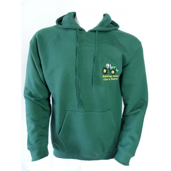children s hoodie with tractor logo sd sports